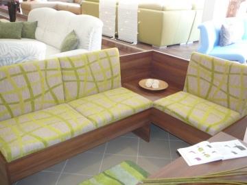 Čalouněná kuchyňská rohová lavice